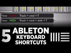 This video, via DJ TechTools, takes a look at five Ableton Live shortcuts in two minutes.