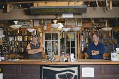 The Salvage Dawgs from Black Dog Salvage in Roanoke, Va. - I freaking love these guys. I will someday visit them.