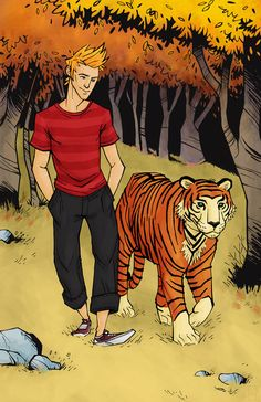 Everyone grows older, but not everyone grows up. (Calvin and Hobbes by M. S. Corley.)