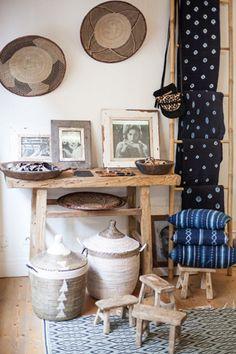 Boutique Cabane Indigo 38 rue Bouffard Bordeaux - Photo @studioboheme