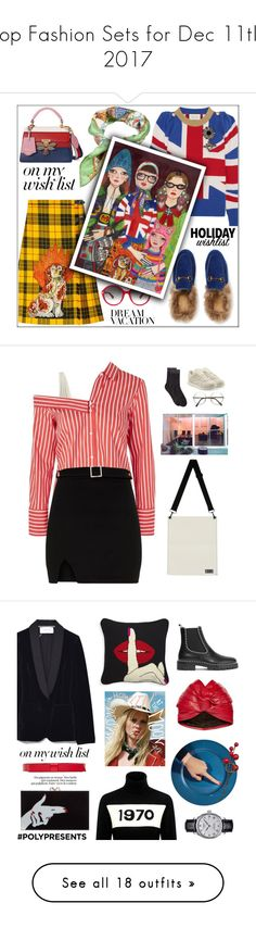 """""""Top Fashion Sets for Dec 11th, 2017"""" by polyvore ❤ liked on Polyvore featuring Gucci, contestentry, polyvoreeditorial, polyPresents, Solid & Striped, Topshop, Reebok, MANGO, men's fashion and menswear"""