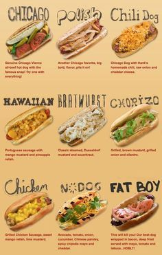 Hank's Haute Dogs. On DDD. Hawaiian Looks goooood