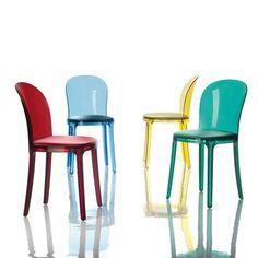 Sedie moderne per cucina - Murano Vanity Chair, sedie di Magis