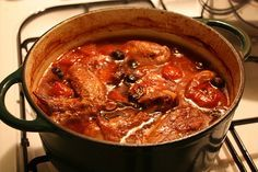 The REAL Tuscany recipe for Chicken Cacciatore