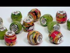 Video: Pandora style paper beads | Видео: бумажные бусины а стиле «Пандора»