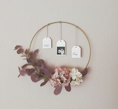 Autumn wreath – DIY decorations for doors and walls – LeniBel large DIY modern fall hoop wreath, # large Spring Summer Tips: Hyggelig living How To Make A Christmas Ball In Less Than One Hour / How To Make A Ball – … Cute … Diy Fall Wreath, Autumn Wreaths, Christmas Wreaths, Fleurs Diy, My New Room, Door Wreaths, Fall Decor, Autumn Decorations, Diy And Crafts