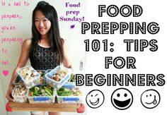 FOOD PREPPING 101: Tips for beginners (How to start food prepping for t...