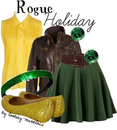 """""""rogue"""" by marvel-ous ❤ liked on Polyvore"""