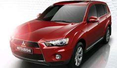 2013 Mitsubishi Outlander red