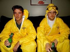 Walt and Jesse | 30 Unconventional Two-Person Halloween Costumes
