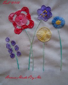 TAST 2012 - week 24  Buttonhole wheel - point de roue festonnée