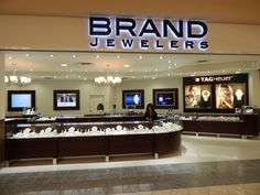 BRAND JEWELERS: Manufacture & Design of Store fixtures by Artco Group.