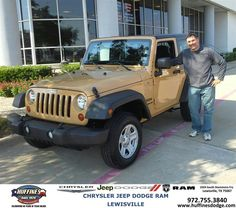 #HappyBirthday to Dennis Gaglia from Ibrahim Masoud at Huffines Chrysler Jeep Dodge Ram Lewisville!