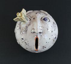 """ceramic money box """"Melies moon"""""""