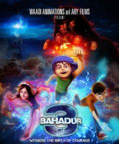 3 Bahadur (2015) 350MB TVRip Pakistani Movie