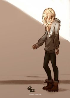 For a depressed teenager she's cute!