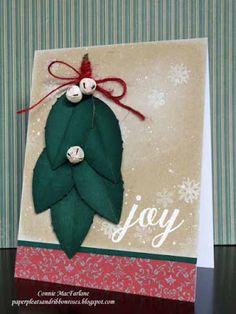 Paper Pleats and Ribbon Roses: Papertrey Ink October Blog Hop - Christmas Joy