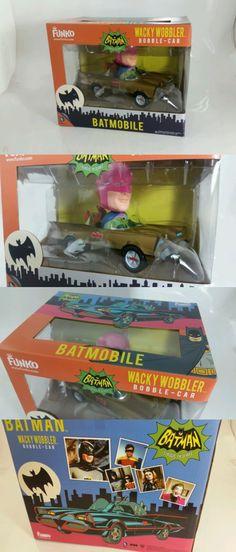 Designer and Urban Vinyl 158672: Funko Batman Batmobile Wacky Wobbler Bobble Head Gold Car 1966 Adam West -> BUY IT NOW ONLY: $54.19 on eBay!