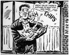 Alf Tupper from Tough of the Track was my favourite story in Victor. Alf was a runner who although up all hours welding (his job) and living off a diet of fish and chips would always beat his snooty rivals on the track. Comic Art, Comic Books, 12 Year Old Boy, Famous Cartoons, Half Man, Weird Stories, Comic Character, Vintage Books, Childhood Memories