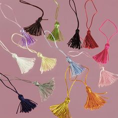 Create the perfect Graduation decor with these Paper Mart Mini Tassels!  [ PaperMart.com ]