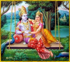 """""""Come here,"""" Krishna pulled Radha closer and she smiled as she leaned into him."""" she pouted """"Love,"""" he smiled She grinned. Krishna Birth, Iskcon Krishna, Krishna Statue, Jai Shree Krishna, Lord Krishna Images, Radha Krishna Pictures, Radha Krishna Photo, Radha Krishna Love, Radhe Krishna"""
