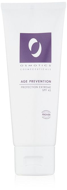 Osmotics Cosmeceuticals Age Prevention Protection Extreme SPF 45, 2.5 oz. -- This is an Amazon Affiliate link. For more information, visit image link.