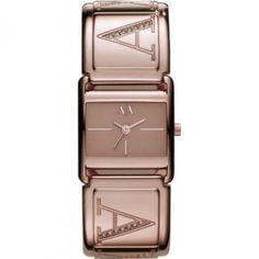 Relógio Armani Exchange AX3119 Ladies Rose Gold Jill Smart Watch #Relógio #Armani Exchange