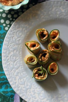Cucumber Rolls with Veggie (Tales) Cream Cheese - The Perfect Pairing - Check out this recipe from Andrea Lynn and some other fun pairings from Netflix #StreamTeam