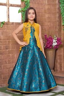 Party Gowns Online Shopping for girls at Low Prices Baby Girl Party Dresses, Dresses Kids Girl, Party Wear Dresses, Latest Party Wear Gown, Party Wear Gowns Online, Girls Frock Design, Kids Frocks Design, Gowns For Girls, Frocks For Girls