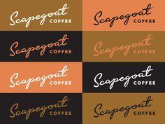 Scapegoat Coffee Logo Concept 1