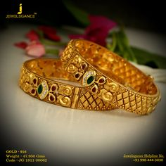Gold 916 Premium Design Get in touch with us on Platinum Jewelry, Gold Jewelry, Glass Jewelry, Pendant Jewelry, Bridal Jewelry, Gold Necklace, Gold Bangles Design, Gold Earrings Designs, Gold Mangalsutra Designs