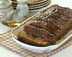 Asian Style Meatloaf | Food to gladden the heart at RotiNRice.com