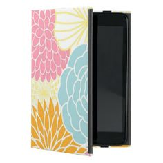 Colorful Mod Florals iPad Mini Cover