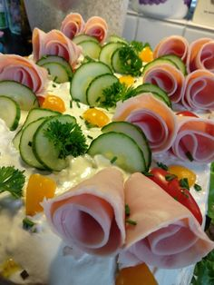 Fresh Rolls, Ethnic Recipes, Food, Essen, Yemek, Meals