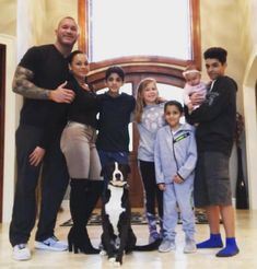 Randy & Kim Orton with their childrens