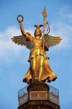 #Berlin Victory Column  -  More information: visitBerlin.com