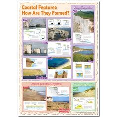 Want to know how coastal features are formed? This poster will tell you all about it!