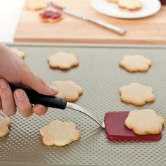 I have and I love the OXO Cookie Spatula on Williams-Sonoma.com