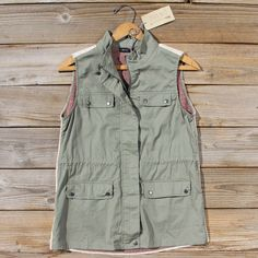 Northwest Legend Vest, Sweet & Rugged Coats from Spool No.72. | Spool No.72