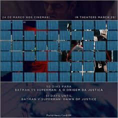 """50 dias para Batman vs Superman: A Origem da Justiça // 51 days until #BatmanvSuperman!  #TeamSuperman #BvS #HenryCavill #superman #aorigemdajustiça…"""