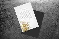 Modern Greeting Card by printdesignbundle on Creative Market