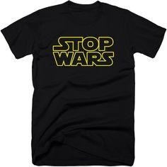 Stop wars.  #stopwars #stopthenwo #truthtshirts #makelovenotwar #antiilluminati #tshirt  TRUTHTSHIRTS.COM  http://truthtshirts.com/products/stop-wars-t-shirt