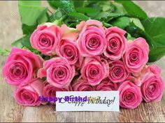 Happy Birthday Song that makes your wishes come true :P Happy Birthday Flowers Wishes, Birthday Roses, Baby Birthday, Free Musical Birthday Cards, Happy Birthday Music, Birthday Messages, Birthday Greetings, Roses Valentines Day, Happy B Day