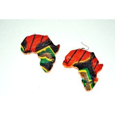 Afro Hair Earrings, Natural Hair Earrings, Wood Earrings. African Map Wood Earrings, Ankara African Fabric Wood Earrings, African Jewelry