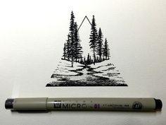 This drawing by Derek Myers is absolutely stunning. It's small, yet so detailed…