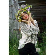 Handmade embroidery - Romanian Blouse- Bohemian fashion top - ie romaneasca