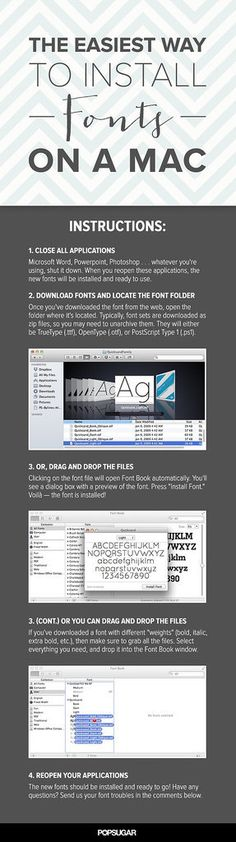 Found: The Easiest Way to Install Fonts on a Mac