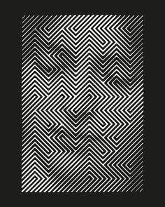 HOPE | Print | Limited edition — Sergi Delgado | Art & Design Black Paper, Op Art, White Ink, Paper Weights, Free, Fine Art, Art Prints, Studio, Artist