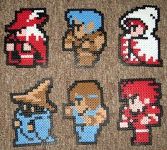 How to make your favorite Nintendo characters with perler beads - Shy Guy Kingdom