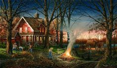 Autumn Evening--Terry Redlin